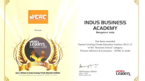 KPMG Certificate