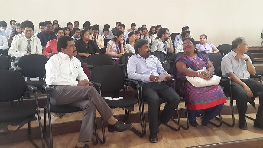 Guest Lecture - Mr. Venu G. Somineni